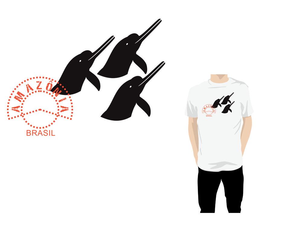 Coleção de camisetas temáticas