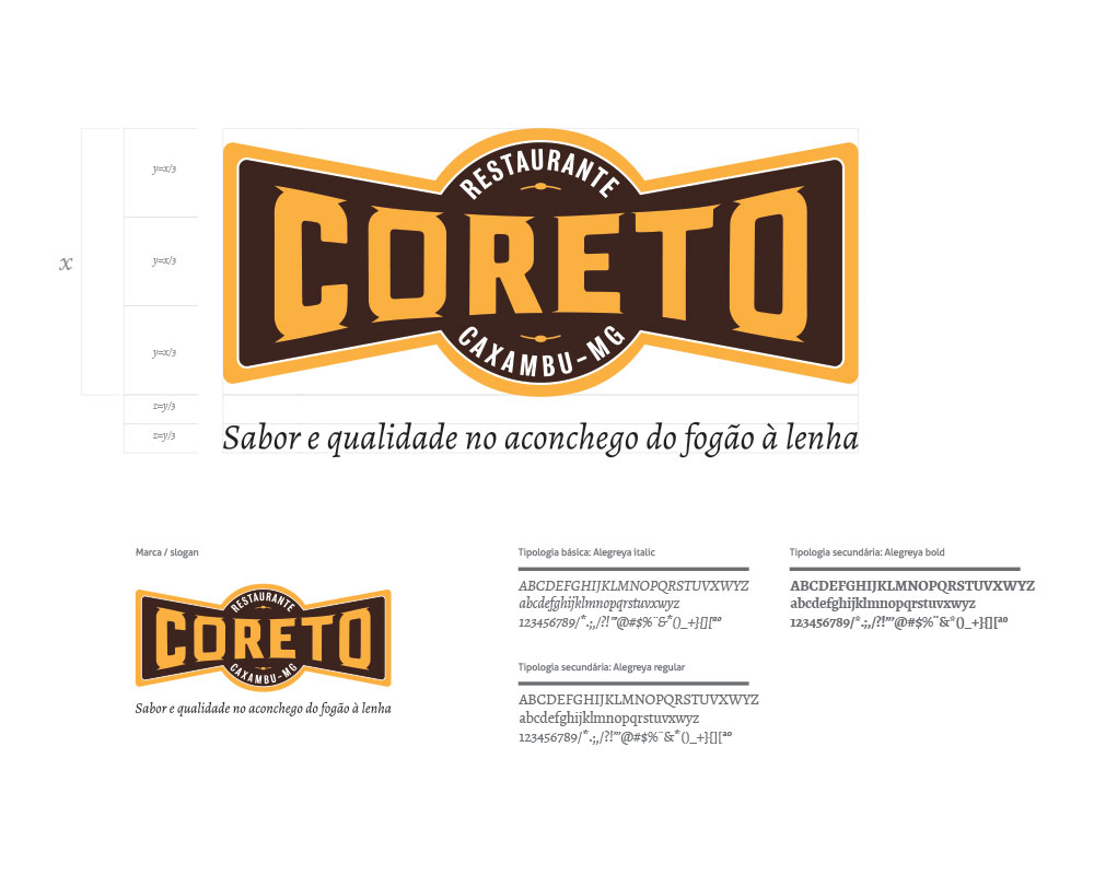 Restaurante Coreto Caxambu MG – Identidade Visual